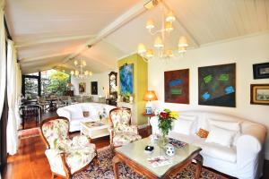 Zona de estar de Hotel Quinta de San Amaro