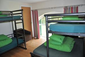 A bunk bed or bunk beds in a room at YHA Okehampton