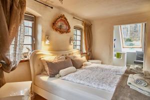 Postelja oz. postelje v sobi nastanitve Holzwerk Oybin