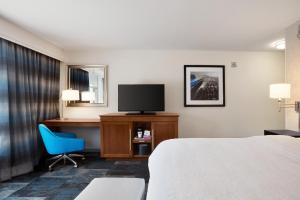 A television and/or entertainment center at Hampton Inn & Suites Rosemont Chicago O'Hare