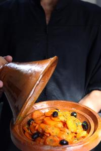 Nourriture dans le riad ou à proximité