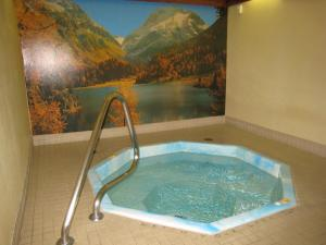 The swimming pool at or near Downtowner Motor Inn