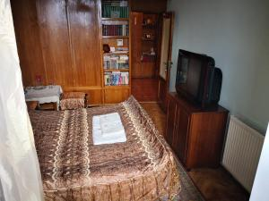 A television and/or entertainment center at Apartment Erekle