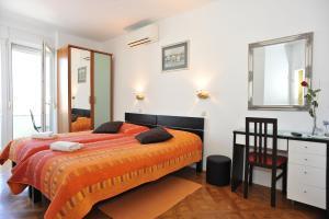 Krevet ili kreveti u jedinici u objektu Zadar Old Town Apartments II