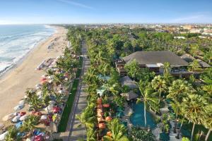 A bird's-eye view of Legian Beach Hotel