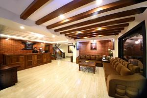 The lobby or reception area at Kumari Boutique Hotel