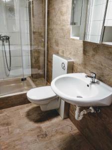 Een badkamer bij Ferienwohnungen Willrich