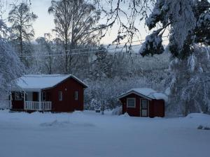 Stuga/Villa during the winter