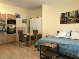 Posezení v ubytování ML Suites 2
