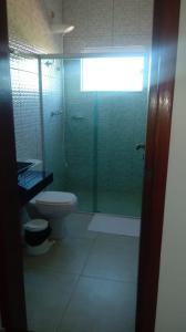 A bathroom at Hotel Cruzeiro de São José