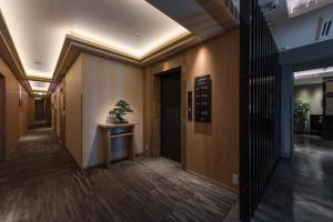 The lobby or reception area at Hotel ZEN Sennichimae (Adult Only)