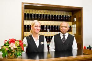 Staff members at Graben Hotel