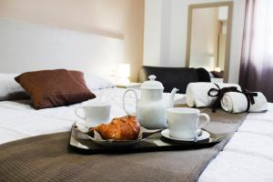 Breakfast options available to guests at Hotel Cesirja