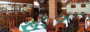 A restaurant or other place to eat at Hotel Vista Hermosa