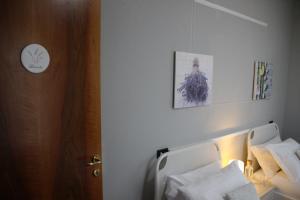 Letto o letti in una camera di B&B VILLA ROSA