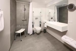Et badeværelse på Hotel Odeon