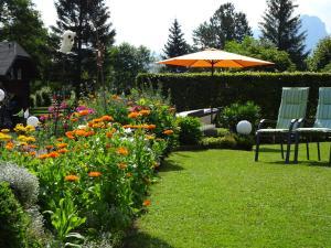 A garden outside Haus Seehof