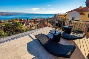 A balcony or terrace at Villa Vilma