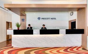 El vestíbulo o zona de recepción de Prescott Hotel Kuala Lumpur Medan Tuanku