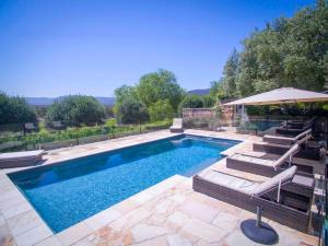 The swimming pool at or near Talits Vineyard Estate