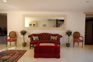 A seating area at Talits Vineyard Estate