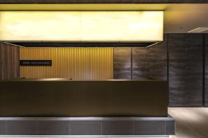 The lobby or reception area at Hotel The Grandee Shinsaibashi