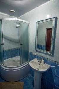 A bathroom at Diamond De Luxe