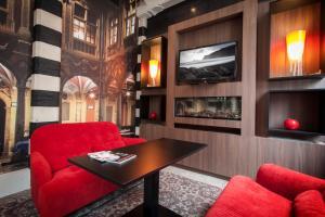 Гостиная зона в Mercure Lille Centre Grand Place