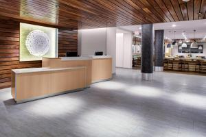 The lobby or reception area at Fairfield Inn & Suites by Marriott Allentown West