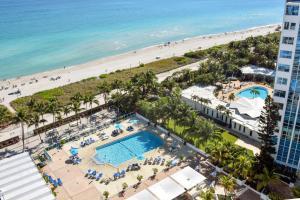 A bird's-eye view of Seacoast Suites on Miami Beach