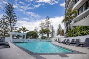 The swimming pool at or near Mantra Coolangatta Beach