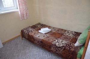 Кровать или кровати в номере Парк-отель Озеро Великое