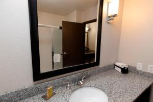 A bathroom at President Abraham Lincoln - A Doubletree by Hilton Hotel