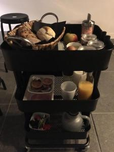 Breakfast options available to guests at B&B in de Kloosterhof