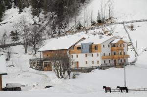 L'établissement Steinwandterhof en hiver