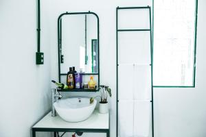 A bathroom at Lab House /Apartment