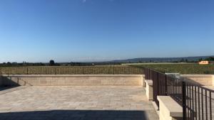 En balkong eller terrass på Masseria Sacramento