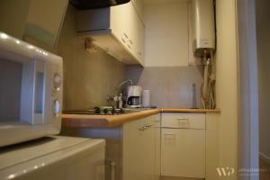 A kitchen or kitchenette at Appartement Lucia, 8ste verdieping