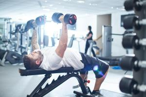 The fitness center and/or fitness facilities at Mercure Newcastle George Washington Hotel Golf & Spa
