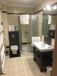 Łazienka w obiekcie Apartamenty Anja w Rewalu Baltic Vip
