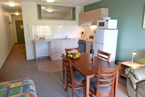 A kitchen or kitchenette at Falls Creek Country Club
