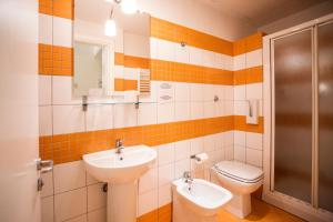 A bathroom at Albergo Bencidormi