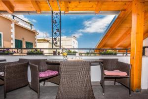 A balcony or terrace at Apartments Marina