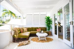 A seating area at Jamaica Beach House