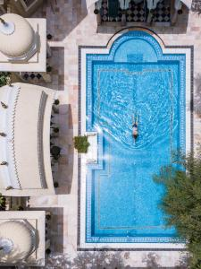 A view of the pool at Alsisar Haveli - Heritage Hotel or nearby