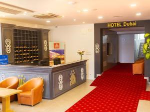 The lobby or reception area at Hotel Dubai