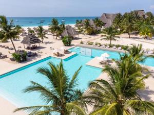 A view of the pool at Gold Zanzibar Beach House & Spa or nearby