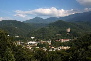 A bird's-eye view of The Park Vista - A DoubleTree by Hilton Hotel - Gatlinburg