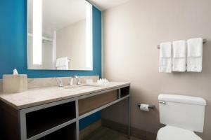 A bathroom at Hilton Garden Inn New Orleans Convention Center