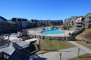 A view of the pool at Barrier Island Station, a VRI resort or nearby